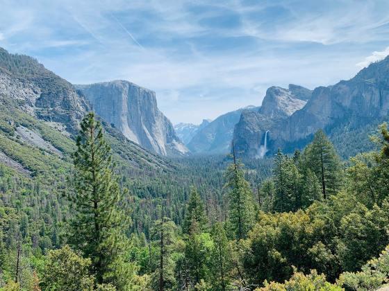 Narodni park v Kaliforniji Yosemite