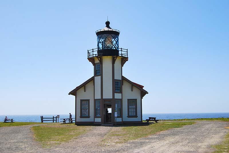 ZAHODNA OBALA ZDA Svetilnik Point Cabrillo