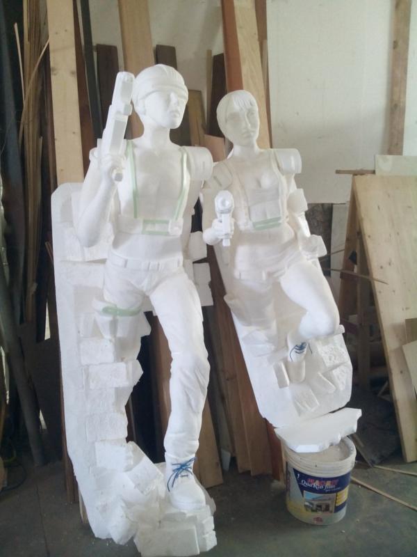 STRANOLEGNO DESIGN creazioni in polistirolo sculture