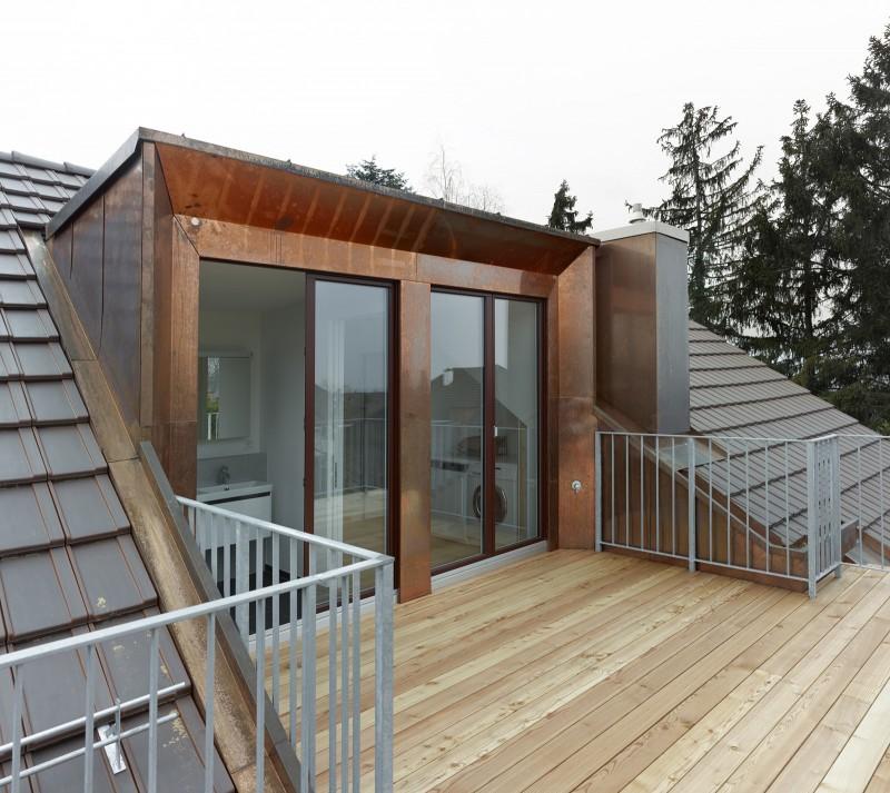 Strasser Architekten AG  Mehrfamilienhaus