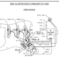 Fender Eric Clapton Strat Wiring Diagram 1990 Honda Crx Radio Stratocaster Guitar Schematic Modifications ...