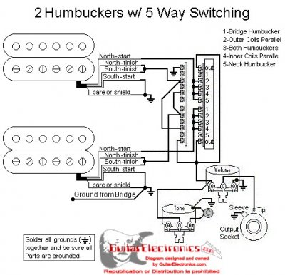 5 Way Switch Wiring Diagram Hh Database