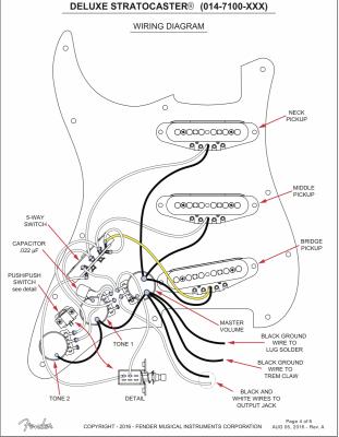 deluxe mim strat wiring question w/diagram  fender