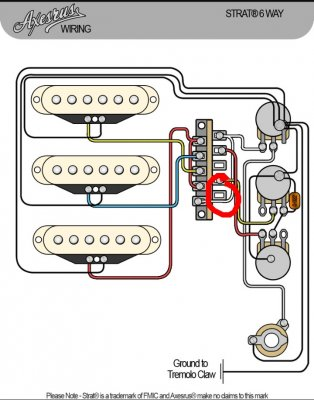 oak grigsby 6way switch wiring question  fender