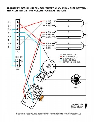 wiring questions hhh with coilsplitting  fender