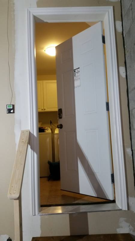 Custom Brick Window Amp Door Cut Out Strataline Inc