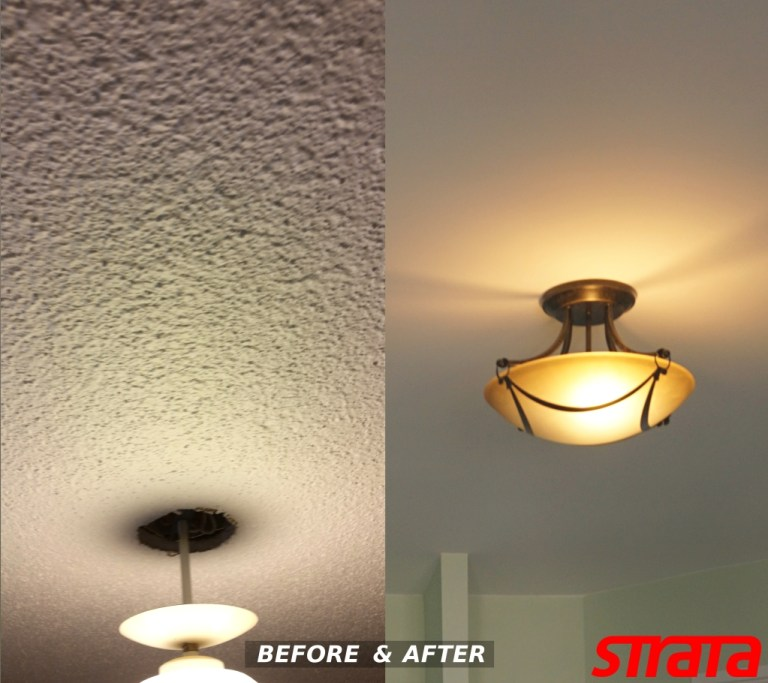 Dustless accoustic ceiling removal newmarket