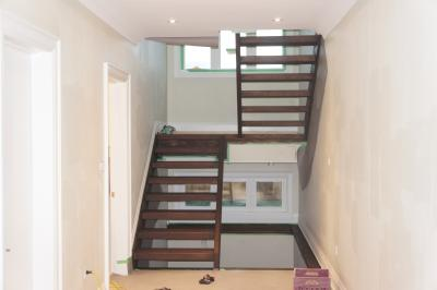 Stair, Stairs, Railing, Design, Installation, Install, Refinish, Cap, Aurora, Newmarket, King, Vaughan, York, Ontario