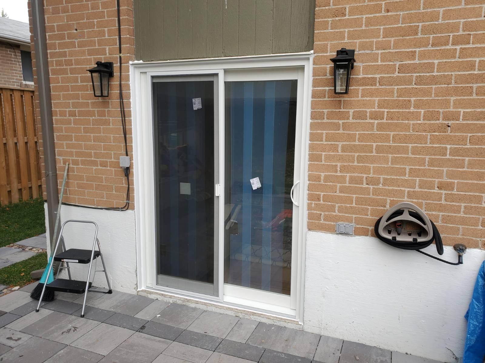 PVC Sliding Door Installation and Replacement, PVC Windows Woodbridge, Maple, Vaughan, King, Aurora, Nemwarket, Caledon, Nobleton, Kleinburg