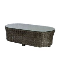 Source Outdoor Wellington Wicker Coffee Table - Wicker ...
