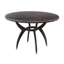 Source Outdoor Venetian Wicker Dining Table