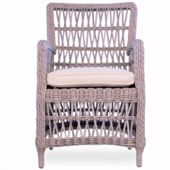 Wicker Chair Cushion Replacements Navy Dining Room Chairs Lloyd Flanders Mackinac Replacement