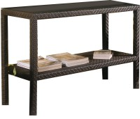 Hospitality Rattan Soho Wicker Console Table ...