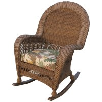 Longboat Key Casa Del Mar Wicker High Back Rocker
