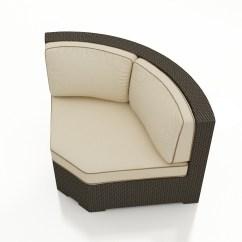 Wicker Chair Cushion Replacements Folding Hong Kong Forever Patio Hampton 45 Degree Sectional Corner