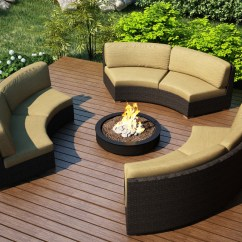 84 Patio Sofa Cover Hutton Harmonia Living Arden 3 Piece Eclipse Sectional Set ...