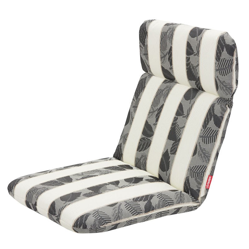stratco stripe textiline outdoor back and seat cushion
