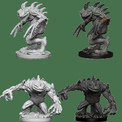 D&D Nolzur's Marvelous Miniatures: Gray Slaad & Death Slaad