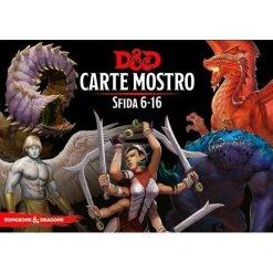 Carte Mostro Sfida 6-16