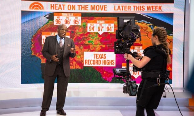 Increased temperatures in U.S. cities due to climate change