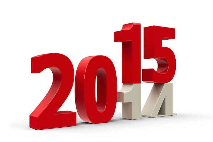 2015 calendar change