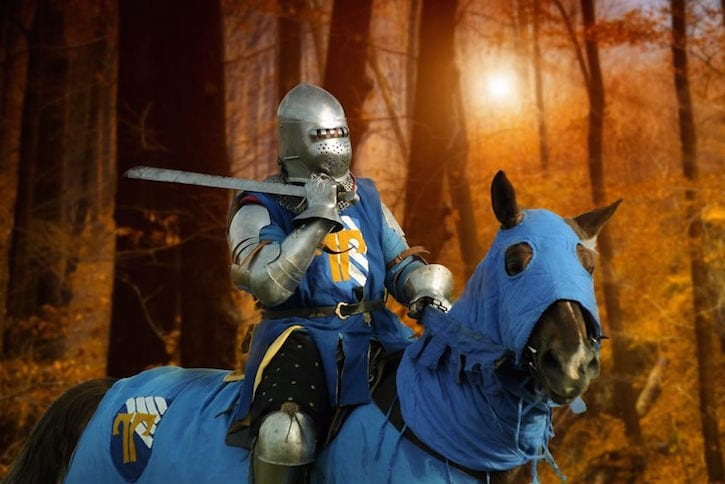 21332963 - knight on horseback