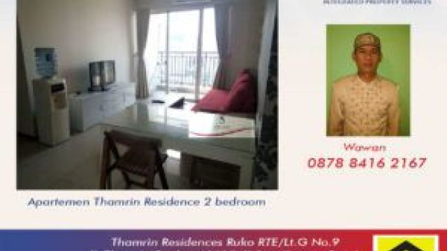 Rented By Wawan Apt Thamrin residence 2br lt27