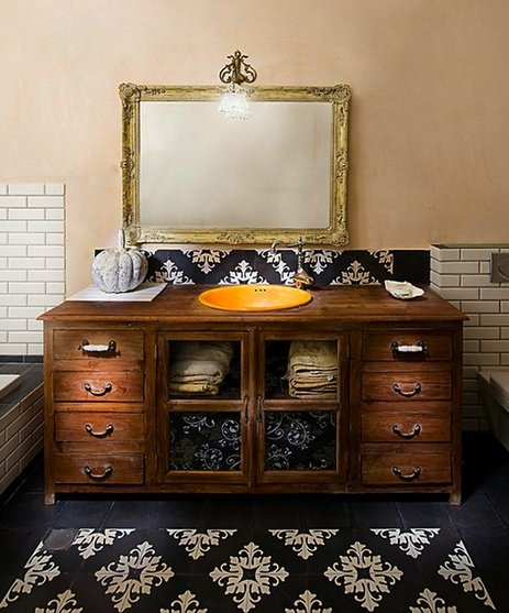 Bathroom Vanities From Old Dressers: How To Turn Your Old Dresser