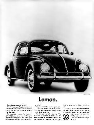Volkswagen advertising