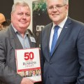 Scott Morrison and Julian Day Day
