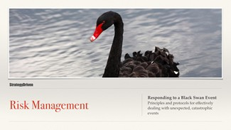 Preparing for the Black Swan Video Training Series