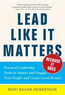 Lead Like it Matters… Because it Does
