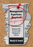 Management Experience Acquired by Wendy Powell