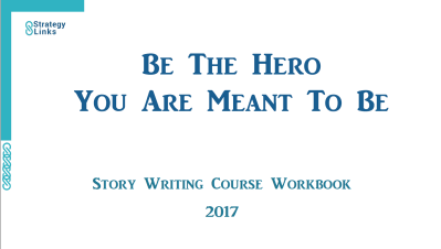 """Be The Hero You Are Meant To Be"" course workbook image"