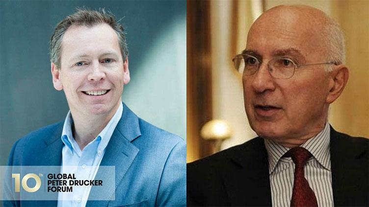 Interview with Richard Straub: Global Peter Drucker Forum 2018