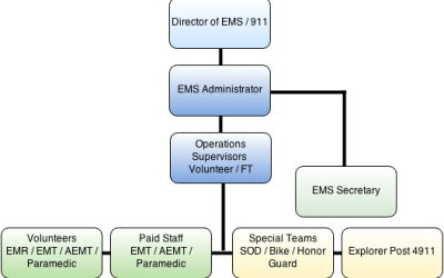 SEMS Org Chart