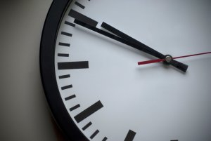 Practise music at a certain time. Use a clock or timer.
