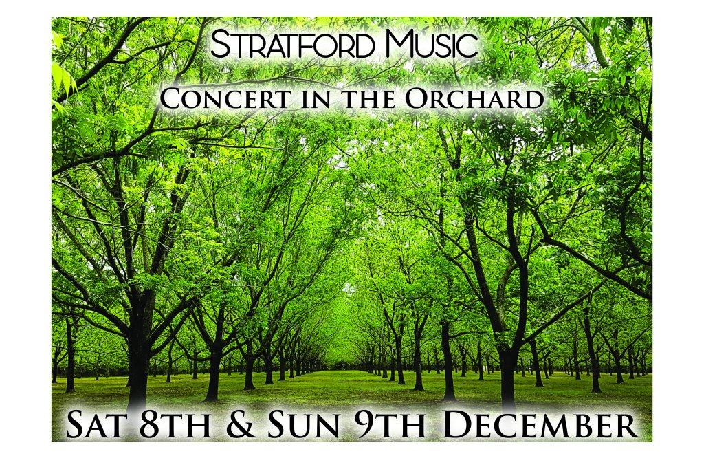 concert in the orchard stratford music end of year farm performances