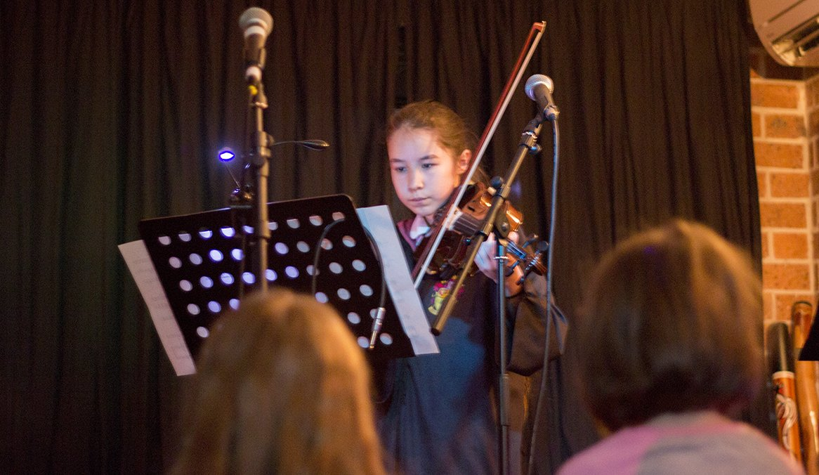 concert stratford music open day august 2018 violin lessons central coast