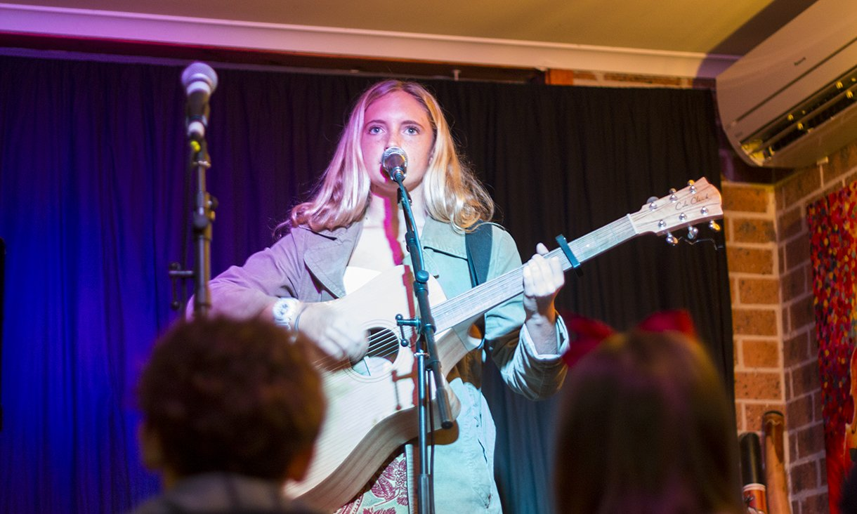 concert stratford music open day august 2018 guitar vocals performance central coast lessons