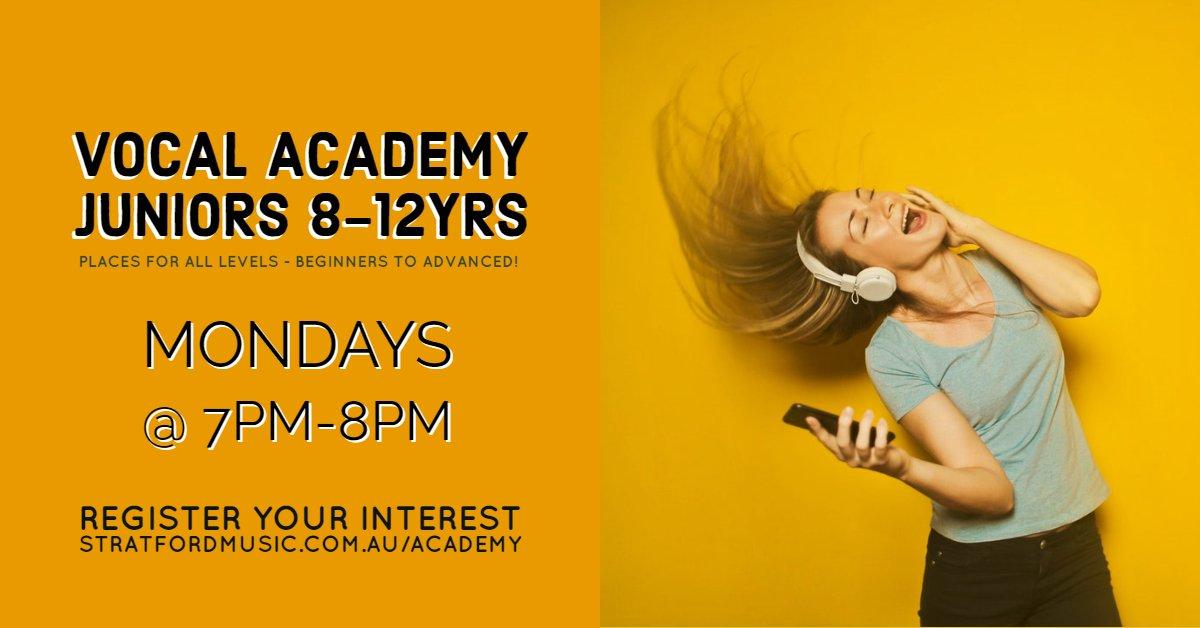 academy Junior singing class choir central coast woy woy kids