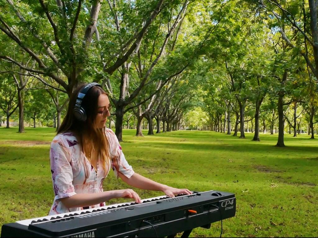 madeline stratford hush piano single