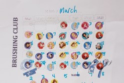 Brushing Calendars