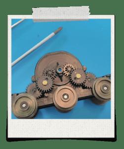 Lima Ringfield motor gears