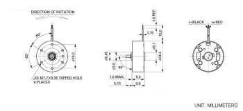 9mm CD motor Specifications
