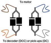 Diode Voltage Dropper Components - Wiring Through-Hole Version