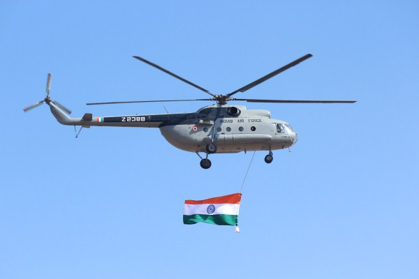 IAF Mi-17 at Aero India 2013 | Photo: StratPost