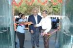 Kishore Jayaraman, Rolls Royce, President - India and K. Naresh Babu, Managing Director, HAL (Bangalore Complex), inaugurating the IAMPL facility.