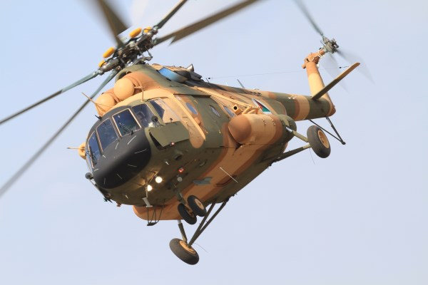 Afghan Air Force Mi-17V5   Photo: Russian Helicopters