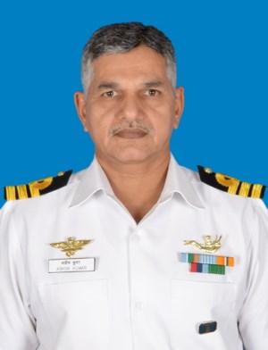 Commander Ashok Kumar | Photo: Indian Navy